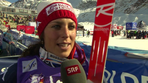 Video «Ski alpin: RS Sölden, Interview Brignone» abspielen