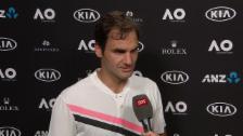 Link öffnet eine Lightbox. Video Federer: «Hatte nicht viel zu gewinnen» abspielen