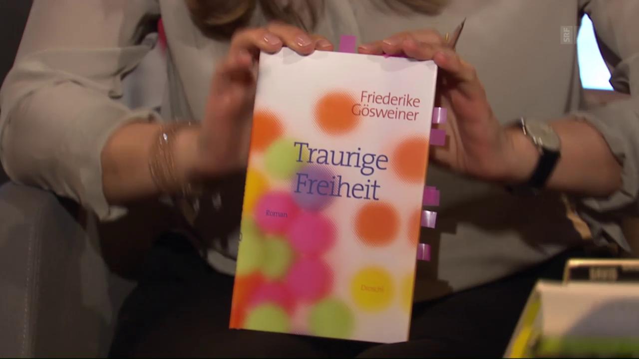 «Traurige Freiheit» von Friederike Gösweiner (Droschl)