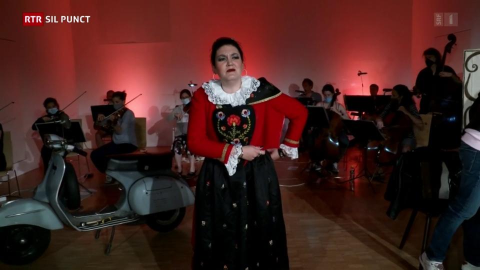 Premiera da l'opera da Rossini a Zuoz