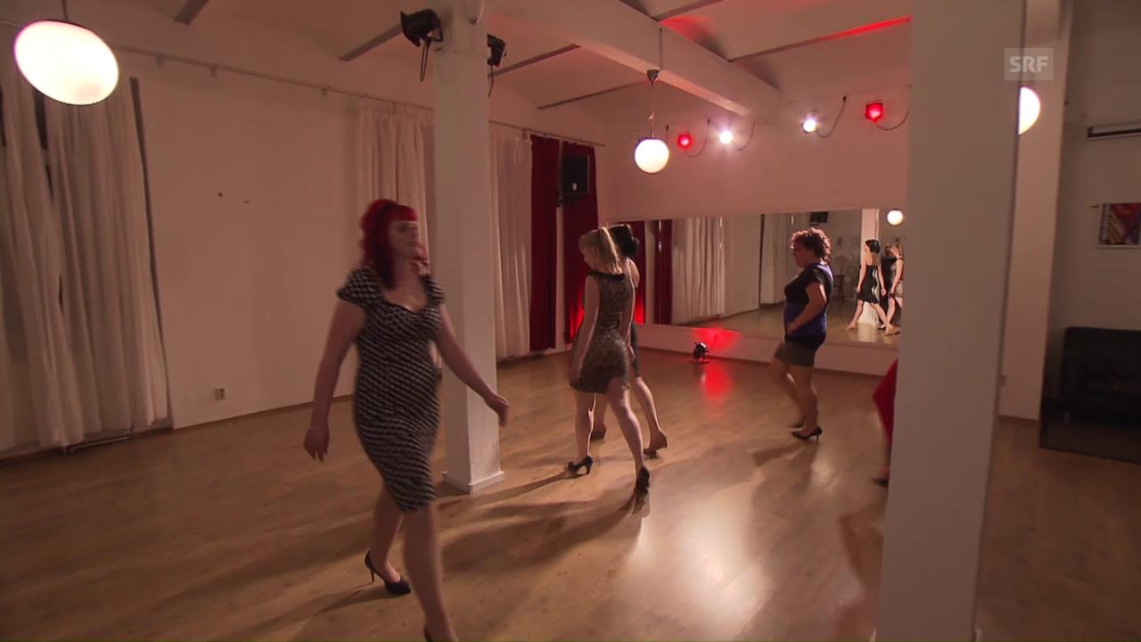 Tanzunterricht bei Koko la Douce