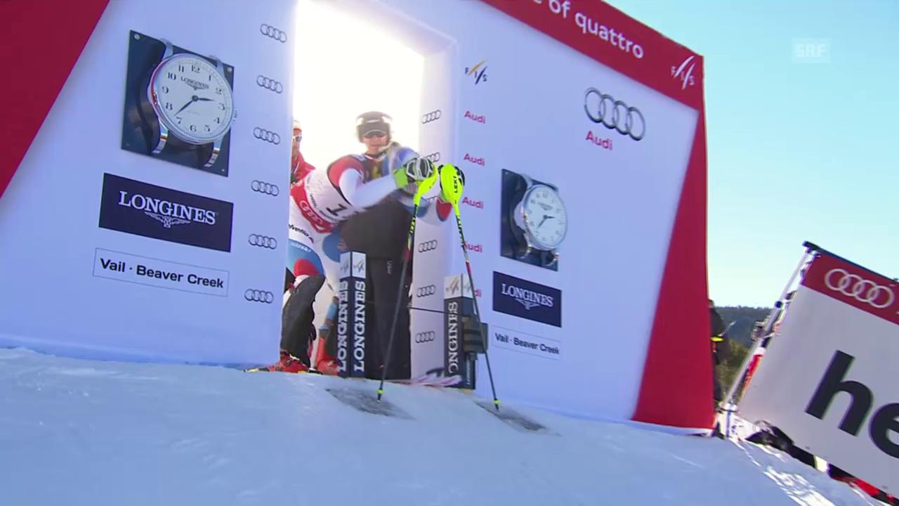 Ski: WM-Super-Kombi Männer, 2. Lauf Mauro Caviezel