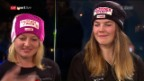 Video «Simone Wild und Mélanie Meillard im Studio» abspielen