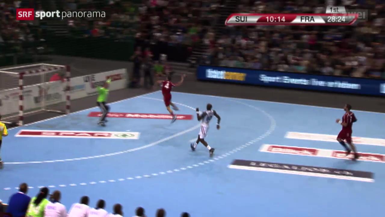 Handball: EM-Qualifikation, Schweiz - Frankreich
