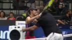 Video «Rima gegen Hingis: Ein Tennis-Duell der anderen Art» abspielen