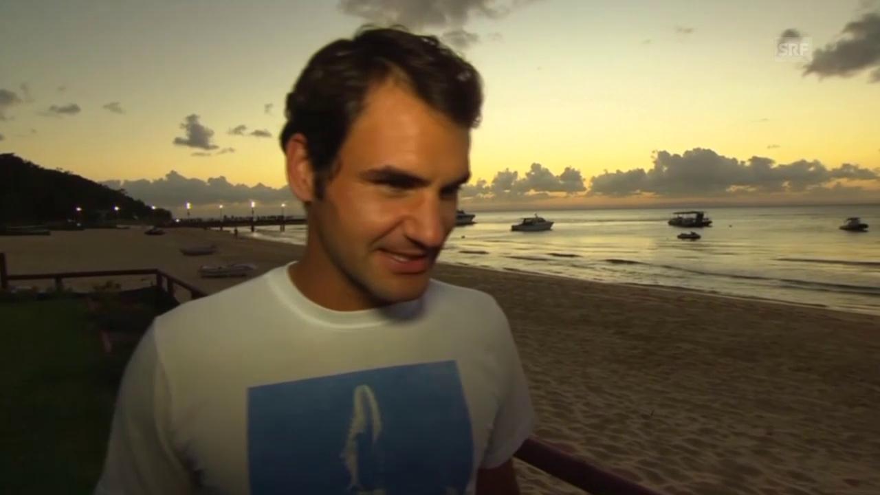 Tennis: Roger Federer vor Brisbane-Start