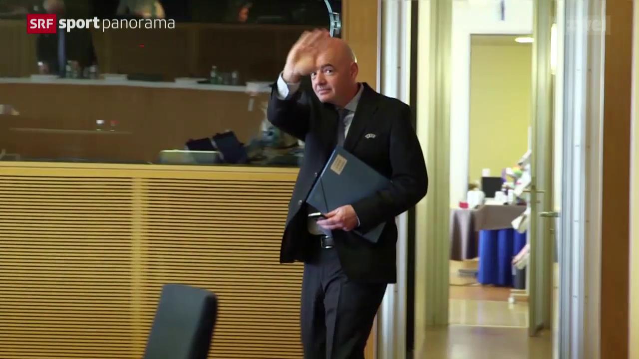 Studiogast Gianni Infantino