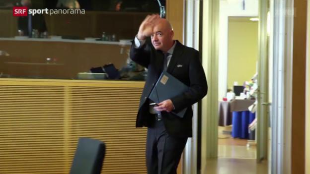 Video «Studiogast Gianni Infantino» abspielen