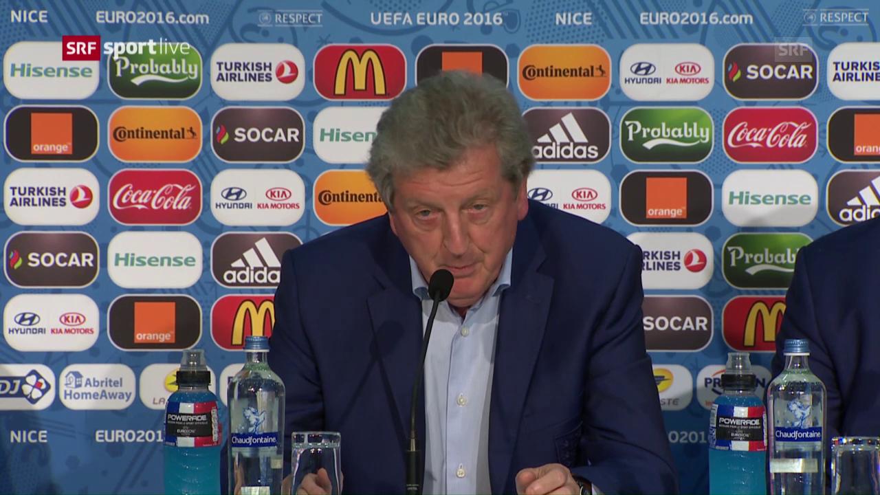 So verkündete Hodgson seinen Abschied