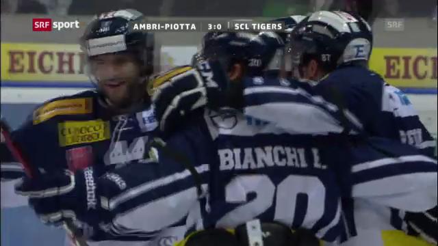 Eishockey: Ambri - SCL Tigers («sportaktuell»)