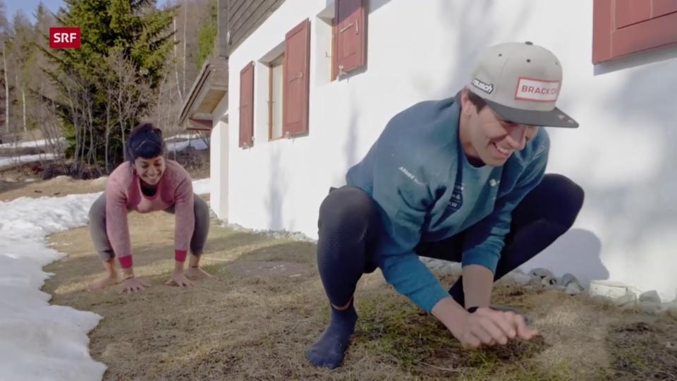 «Achtung, fertig, fit!» mit Skirennfahrer Ramon Zenhäusern