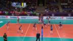 Video «Volero unterliegt Dynamo Moskau in 5 Sätzen» abspielen