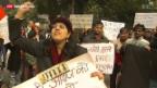 Video «Vergewaltiger-Prozess in Indien hat begonnen» abspielen