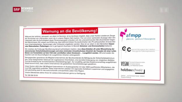 Video «Strafanzeige wegen Inserat gegen Fahrende» abspielen