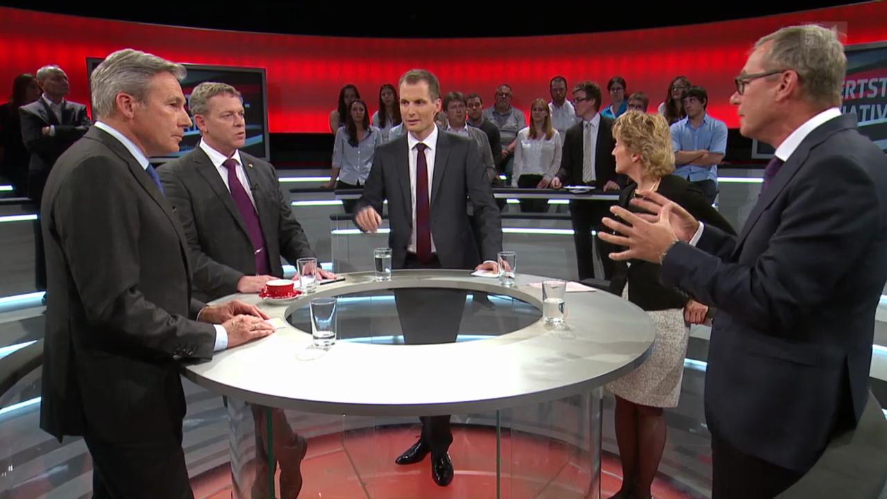 Abstimmungs-Arena: Mehrwertsteuer-Initiative