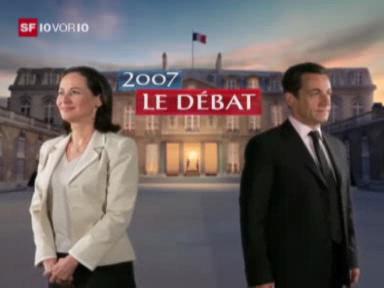 Fernseh-Duell zwischen Sarkozy und Royal