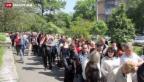 Video «Referendum: Separatisten sprechen von Erfolg» abspielen
