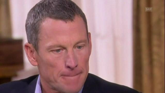Doping-Geständnis von Lance Armstrong (Quelle: SNTV)
