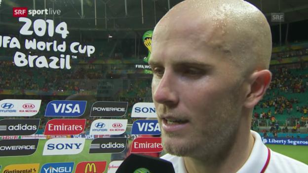 Video «FIFA WM 2014: Interview mit Michael Bradley» abspielen