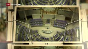 Video «Spitzentreffen der neuen Grossen Koalition» abspielen