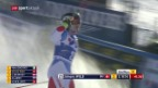 Video «Damen-Team überzeugt im Riesenslalom» abspielen