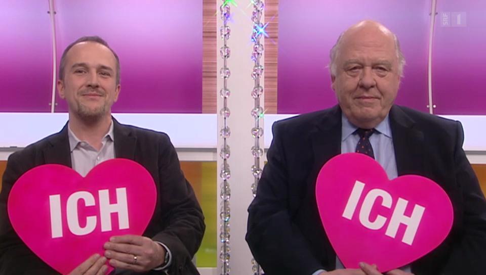 «Ich oder Du» mit Klaus J. Stöhlker und Raoul Stöhlker