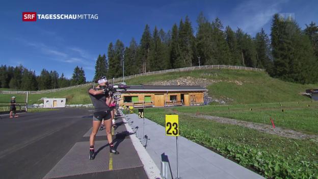 Video «Biathlon auf der Lenzerheide» abspielen