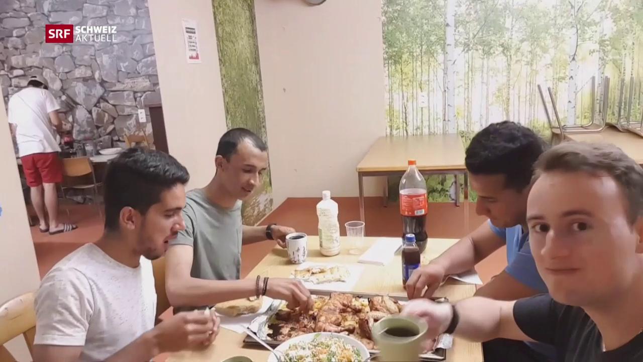 Gastfreundschaft in der Asylunterkunft