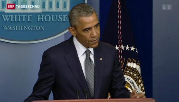 Video «Lüders zu Obama» abspielen