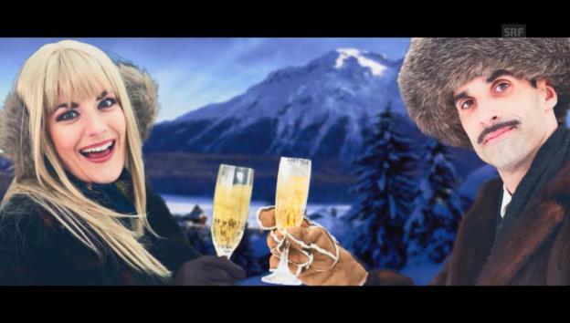Video «Chic im Schnee: Ski-Zirkus» abspielen