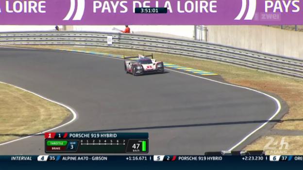 Video «Automobil: 24-Stunden-Rennen von Le Mans» abspielen