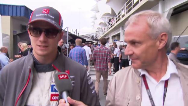 Video «Formel 1: Hülkenberg zu den Wechselgerüchten» abspielen