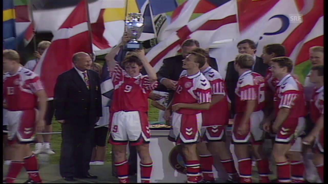 EM-Final 1992: Dänemark-Deutschland