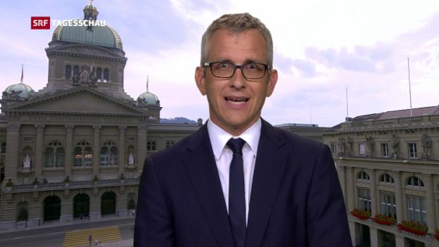 Video «Einschätzung SRF-Bundeshausredaktor Gion-Duri Vincenz» abspielen
