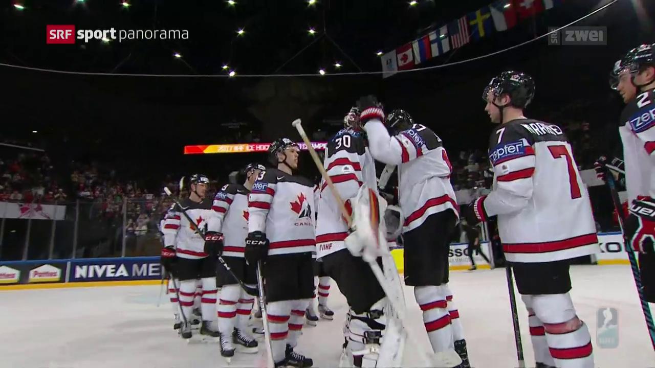 Kanada macht mit Slowenien kurzen Prozess