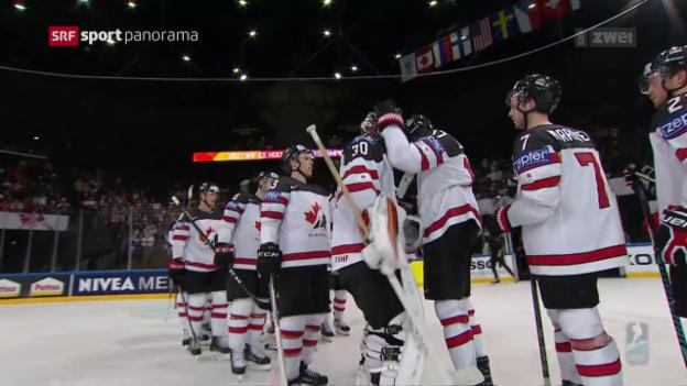Video «Kanada macht mit Slowenien kurzen Prozess» abspielen