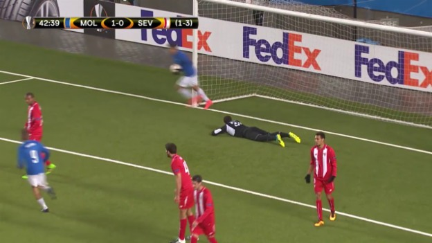 Video «Molde - Sevilla» abspielen