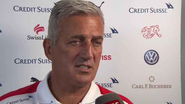 Video «Nati-Coach Petkovic zur Vertrags-Verlängerung» abspielen