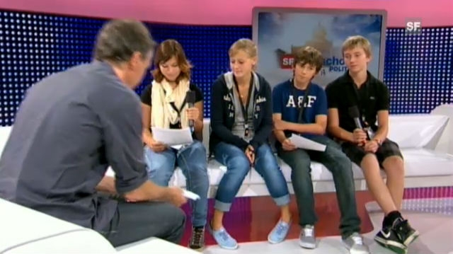Das ganze Interview der Sek-Klasse Hünenberg