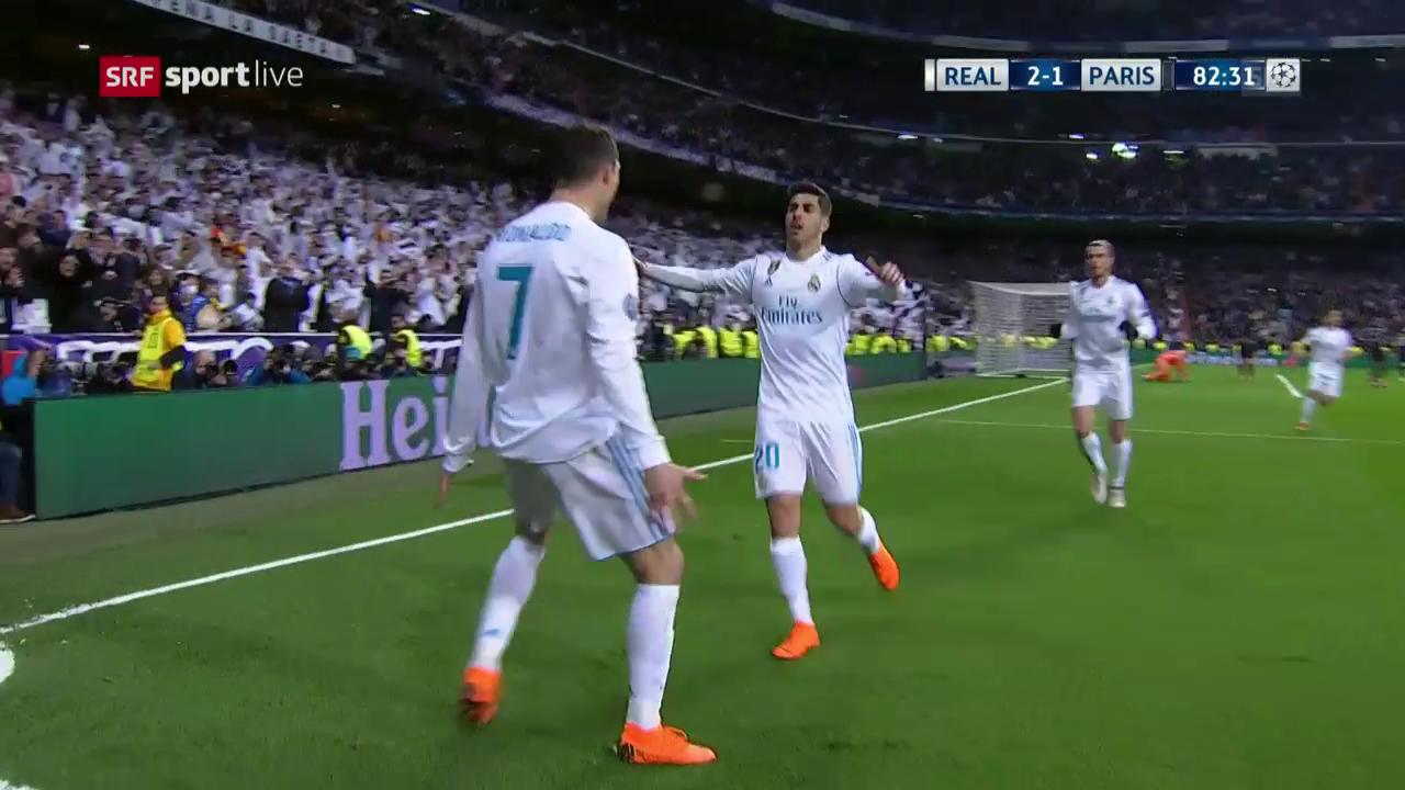 Real Madrid – Paris Saint-Germain: Live-Highlights