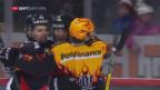 Video «Bern feiert gegen Kloten den 1. Sieg im neuen Jahr» abspielen