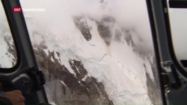Video «Weiterer Bergsteiger im Monte-Rosa-Massiv abgestürzt» abspielen