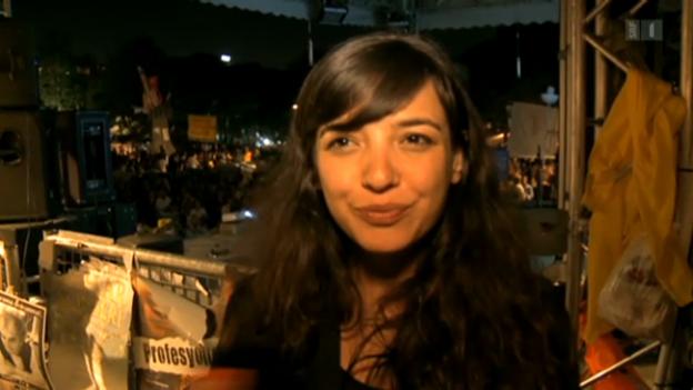 Video «Erfolgserlebnis auf dem Taksim-Platz» abspielen
