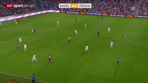 Video «Fussball: Super League, Basel - Zürich» abspielen