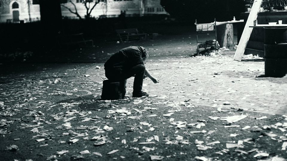 Offene Drogenszene auf dem Platzspitz (1/9)