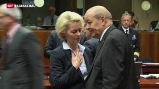Video «Frankreich bittet um Beistand» abspielen