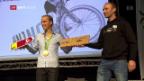 Video «Grosser Empfang für Olympiasieger Schurter in Chur» abspielen