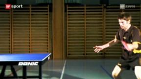 Video ««Tscheggsch de Pögg»: Drall im Tischtennis» abspielen