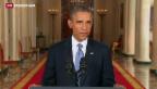 Video «US-Präsident plädiert für Diplomatie statt Krieg» abspielen