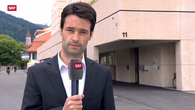 Video ««Angeklagter machte gefassten Eindruck», sagt SRF-Korrespondent Christof Schneider» abspielen